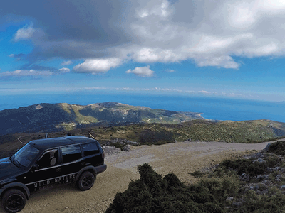 4x4 Aenos National Park safari in Kefalonia