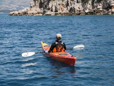 Sea kayaking weekend tour around the Elaphite Islands, near Dubrovnik