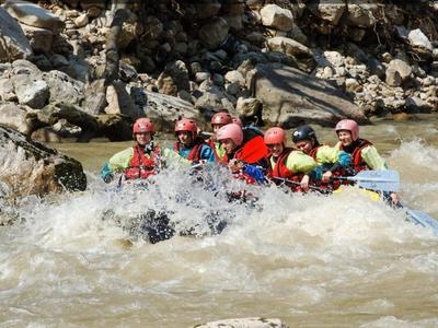 Rafting: Rafting and canyoning excursion in Tzoumerka