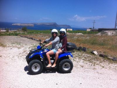 Quad rentals in Santorini