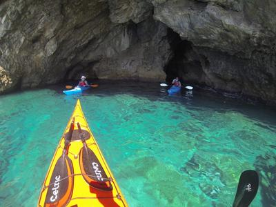 4 day sea kayaking excursion in southern Crete