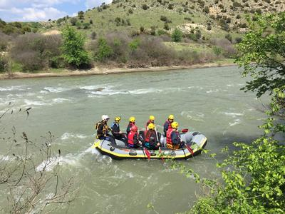Rafting excursions on Mount Olympus