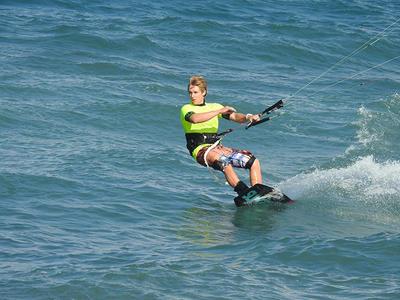 Kitesurfing courses in Santorini