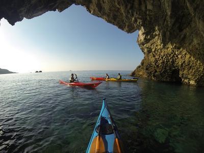 Sea kayak excursion in Sfakia near Rethimno, Crete
