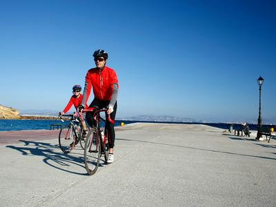Aegina Island mountain biking tour from Athens