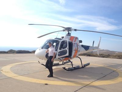 Helicopter tours in Chersonissos, Crete