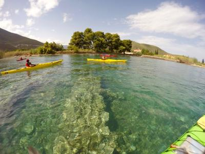 Sea Kayaking: Ancient Sunken City kayak tour in Epidavros