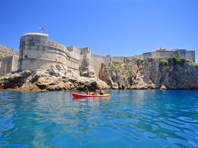 Sea kayaking excursion in Dubrovnik, Croatia