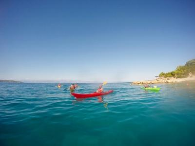 Sea Kayaking: Sea kayak excursions in Porto Heli