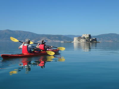 Sea Kayaking: Sea kayak excursions in Nafplio