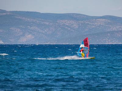 Windsurfing lesson in Nafplio