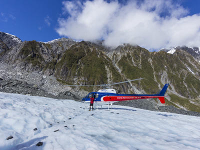 Franz Josef Glacier heli hiking excursion