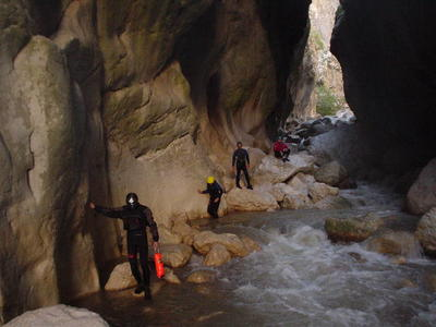Canyoning excursions near Grevena