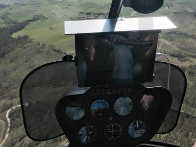Helicopter: Private Helicopter flight over Mt. Etna and Taormina