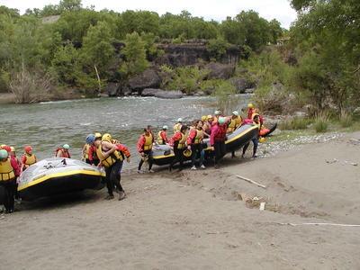 Rafting: Rafting on Aliakmonas River near Meteora
