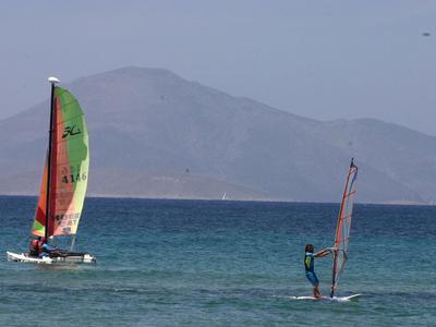 Windsurfing: Windsurfing courses in Mastichari, Kos