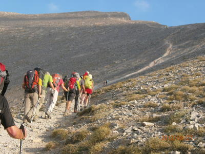 Multi-day hiking excursion on Mount Olympus