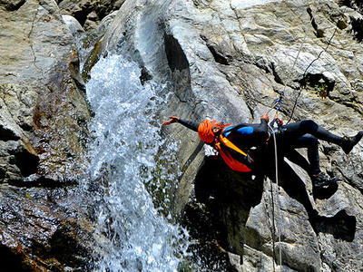 Canyoning: Upper Ferraina canyon in Aspromonte National Park