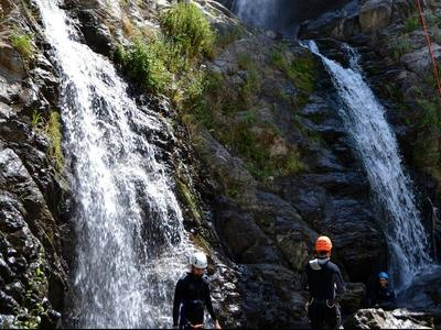 Canyoning: Barvi canyon in Aspromonte National Park