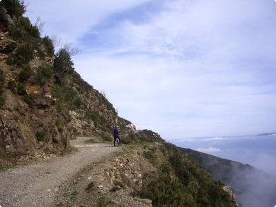 Intermediate mountain bike excursions near Messina, Sicily.