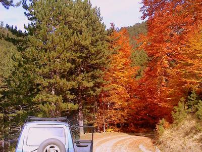 4x4: Jeep excursion in Valia Calda, Pindos