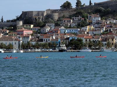 Sea Kayaking excursion in Nafplio