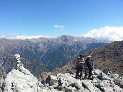 Trekking Lefka Ori Mountains in Crete