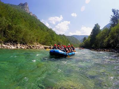 Rafting Tara and Drina Rivers across Montenegro border