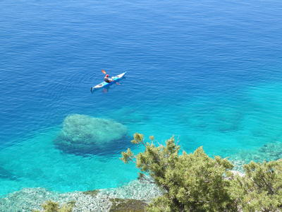 Sea Kayaking: Sea Kayaking excursion to the sunken city of Epidaurus