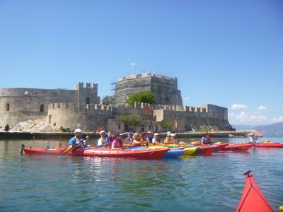 Sea Kayaking: Sea Kayaking excursion in Nafplio