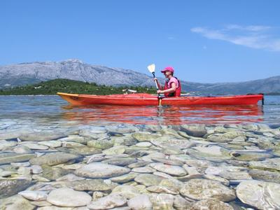 Sea Kayaking in Korčula