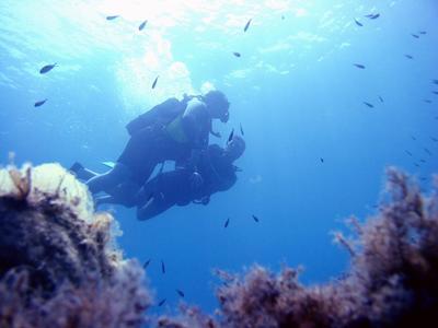First dive boat trip in Zakynthos