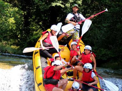 Rafting: Rafting fun trip