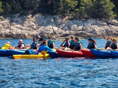 Sea Kayaking from Dubrovnik to Lokrum Island