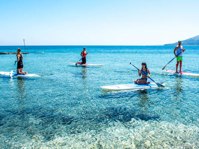 Stand up Paddle: Stand Up Paddling lessons in Zakynthos