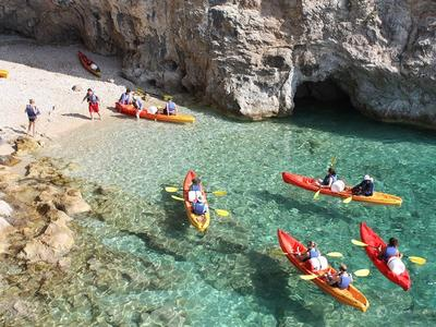 Kayaking and Hiking Tour of Lokrum Island, near Dubrovnik