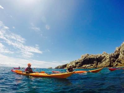 Sea Kayaking excursion in the Dubrovnik Islands