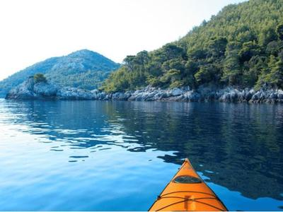 Day Sea Kayaking excursion from Mljet Island