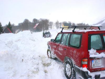 Winter 4x4 Safari in Durmitor National Park