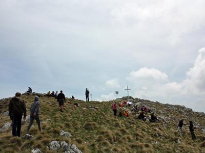 Hiking on Cabulja Mountain near Mostar