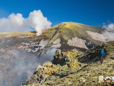 Trek to the Top of Mount Etna (3350m)