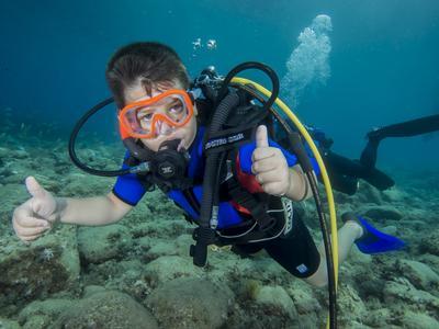 Try Scuba Diving in Marina di Gioiosa Ionica, Calabria