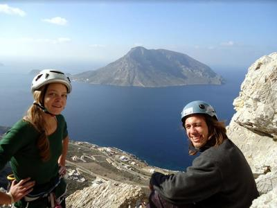 Multi-pitch Climbing Courses in Kalymnos