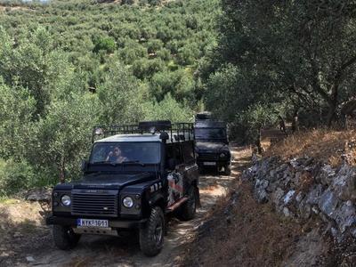 All-inclusive Jeep Tour in Rethymno