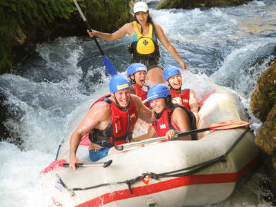 Exciting Rafting trip down the Cetina River