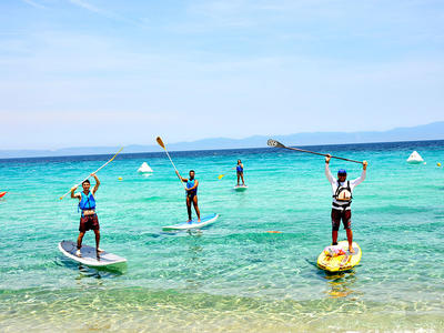 Stand up Paddle: SUP tours in Epanomi, Thessaloniki