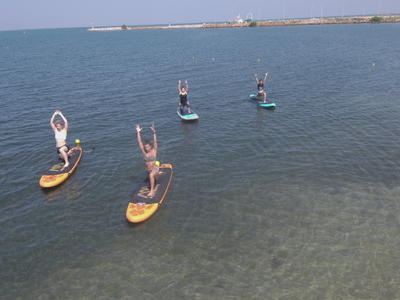 Stand up Paddle: SUP & Yoga Session near Thessaloniki