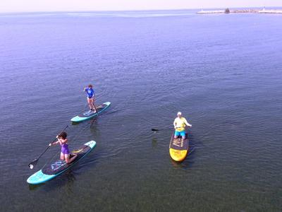 Stand up Paddle: SUP near Thessaloniki