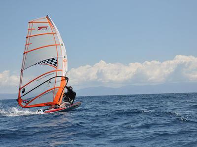 Windsurfing: Windsurfing lesson in Thessaloniki