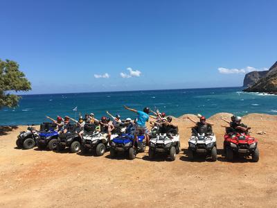 Quad Safari around Crete